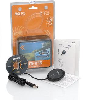 Holux M-215 USB Lieferumfang